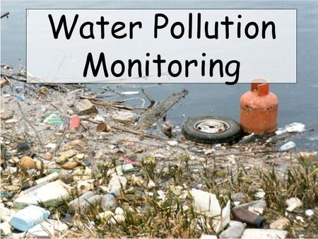 Water Pollution Monitoring