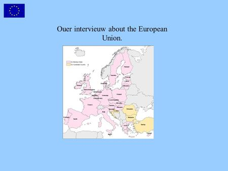 Ouer intervieuw about the European Union.. We intervieuwd adults and children.