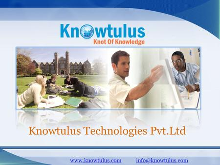 Knowtulus Technologies Pvt.Ltd.