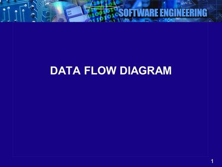 1 DATA FLOW DIAGRAM. 2 Outline Process decomposition diagrams Data flow diagram (DFD)
