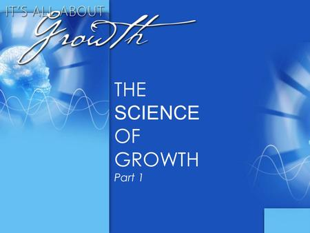 THE SCIENCE OF GROWTH Part 1. What is brain-based teaching? 30 - second write.