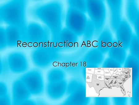 Reconstruction ABC book