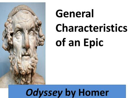 Character traits of odyssey by homer essay
