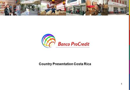 1 Country Presentation Costa Rica. Agenda Introdution History of the country Geographic location and the demography Political Structure The economy Conclusion.