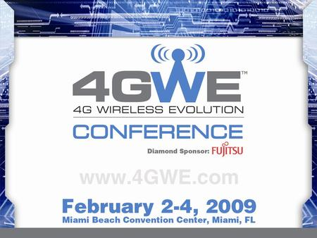 The 4G world: Joe Mele When video becomes the new voice…