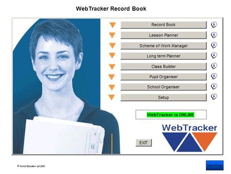 Next Page WebTracker Record Book. Input, view and track pupil Assessments Next Page.
