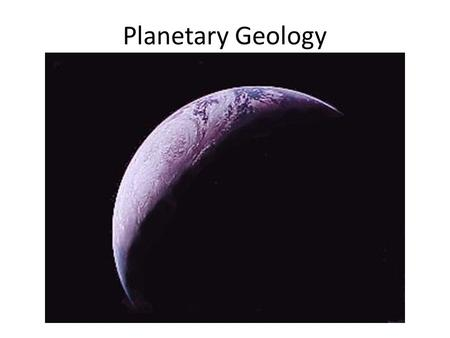 Planetary Geology. Should Humans Be in Space? It's Not Like We Have a Choice.