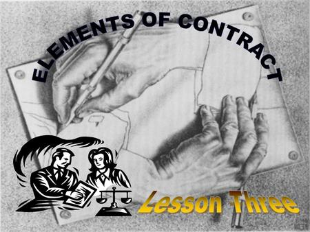"INTRODUCTION When the word ""contract"" is mentioned, there is a tendency for many people to see this as some form of formal written document. When asked."