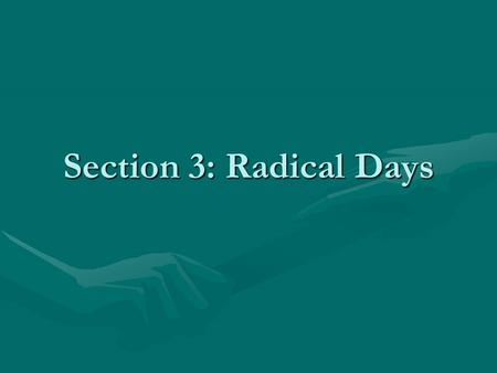 Section 3: Radical Days. Massacre of Swiss Guard, August 10 th.