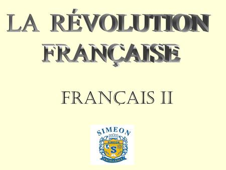 Français II. Project Description ALL PROJECTS ARE TO BE COMPLETED IN POWERPOINT FORM and contain 23 -25 slides. They must include: 1. a title slide (project.