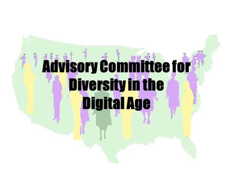 Advisory Committee for Diversity in the Digital Age.