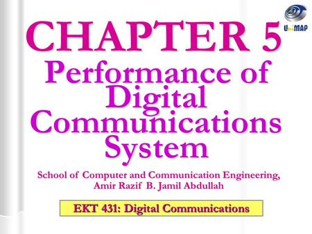 Performance of Digital Communications System