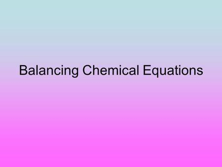 Equations coefficients- 1 the big numbers in front of the compounds and/or elements in a chemical reaction