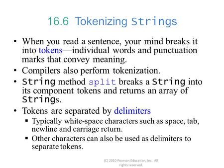 When you read a sentence, your mind breaks it into tokens—individual words and punctuation marks that convey meaning. Compilers also perform tokenization.