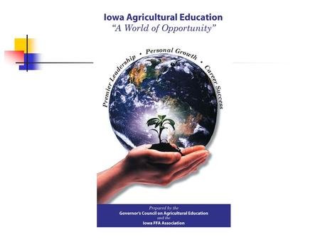 Issues Changes in Iowa Perceptions About Agricultural Education Opportunities Challenges.