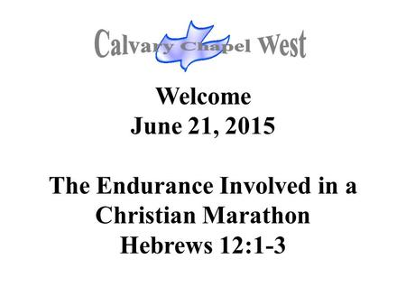 The Endurance Involved in a Christian Marathon