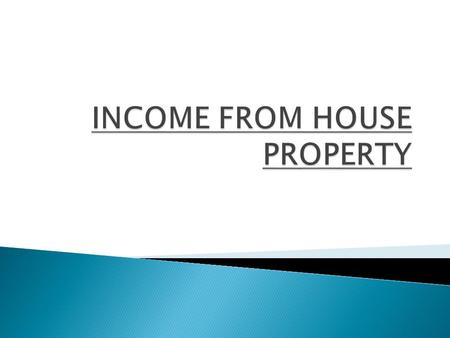 The property:  Consists of any buildings or lands appurtenant thereto,  Of which the assessee is the owner, and  Which is not used for purposes of.
