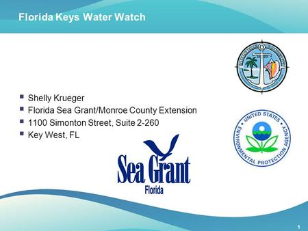 Florida Keys Water Watch