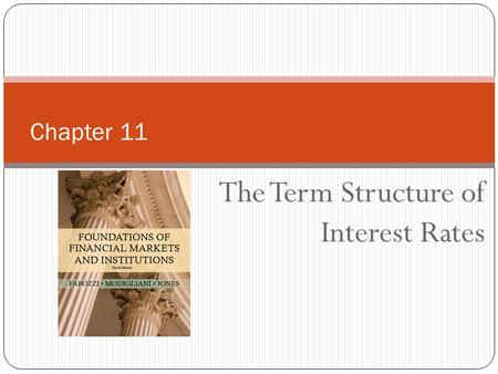 The Term Structure of Interest Rates Chapter 11. Copyright © 2010 Pearson Education, Inc. Publishing as Prentice Hall 2 The Yield Curve Relationship between.