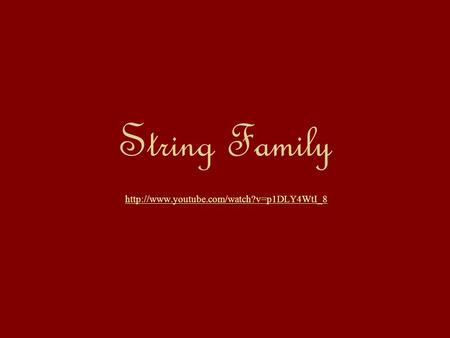String Family http://www.youtube.com/watch?v=p1DLY4WtI_8.