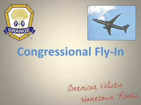 Congressional Fly-In. Less Counts for More on Capitol Hill Congressional fly-ins have become increasingly popular for the association community. A fly-in.