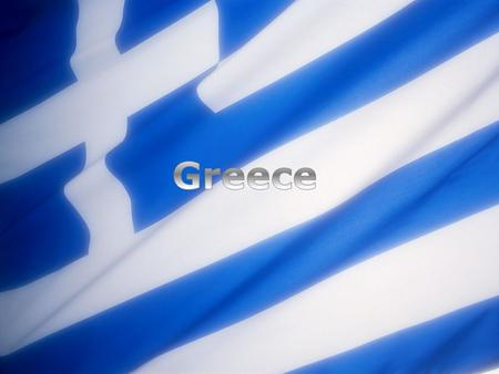 Geography of Greece Greece is a European country located on the Balkan Peninsula Mediterranean coastlines Touches borders with Albania, Macedonia, Bulgaria.