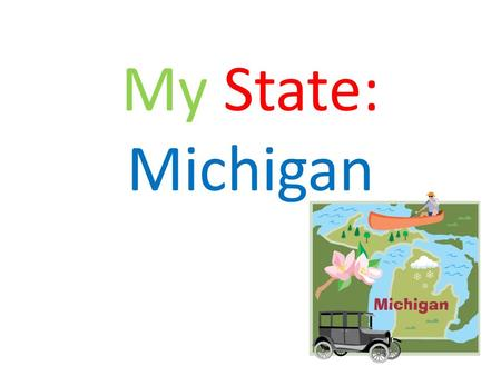 My State: Michigan.