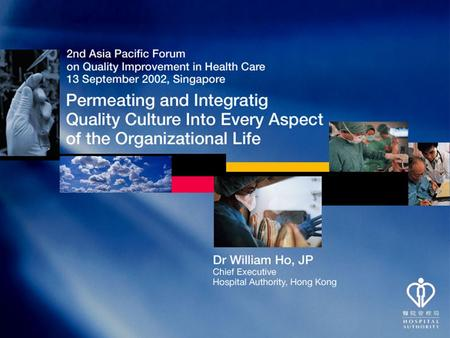 QUALITY QUALITY What is in Health Care ? QUALITY as defined by CUSTOMERS Internal & External QUALITY as defined by CUSTOMERS Internal & External.