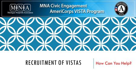 RECRUITMENT OF VISTAS How Can You Help?. WHERE ARE OUR SITES LOCATED?