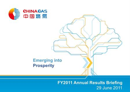 FY2011 Annual Results Briefing 29 June 2011 Emerging into Prosperity.