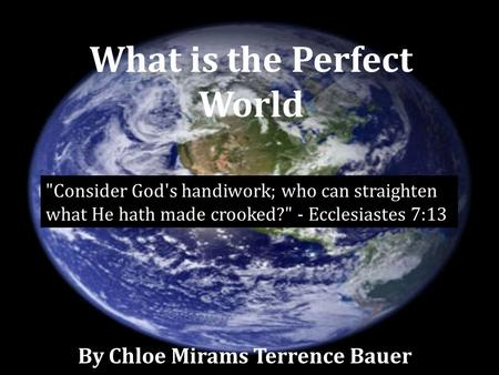 What is the Perfect World