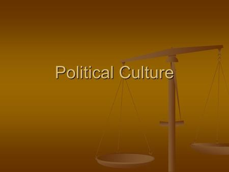 Political Culture. Warm Up Reading on podium Reading on podium Which position do you find more persuasive? Why? Which position do you find more persuasive?