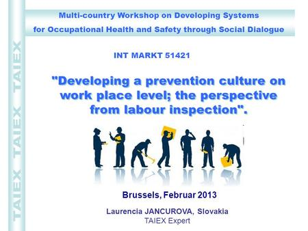Multi-country Workshop on Developing Systems