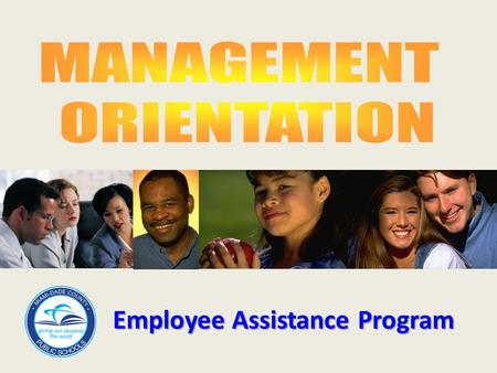 "Employee Assistance Program. ""A worksite-based program designed to assist in the identification and resolution of productivity problems associated with."