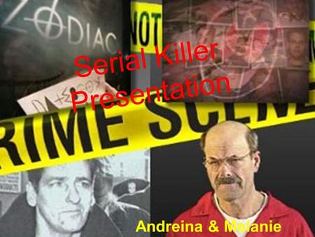 "Serial Killer Presentation Andreina & Melanie. Robert Pickton "" Canada's Worst Serial Killer"""