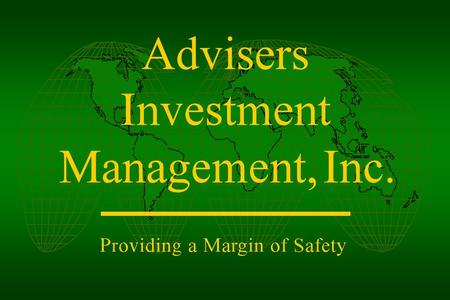 "Advisers. Ten Investment ""Truths"" nvesting is a process, not an event o investment process, as good as it may be, is perfect olatility / risk of your."