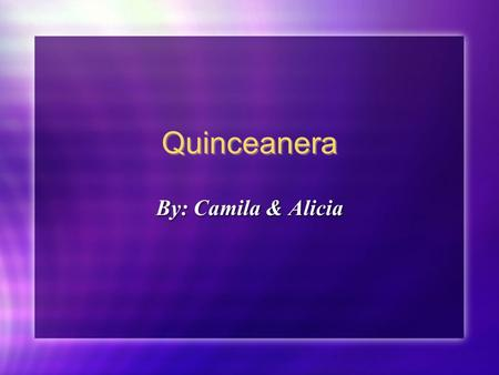 Quinceanera By: Camila & Alicia. Food! Cake Picadillo Mole Arroz Con Leche Pan de Polvo.