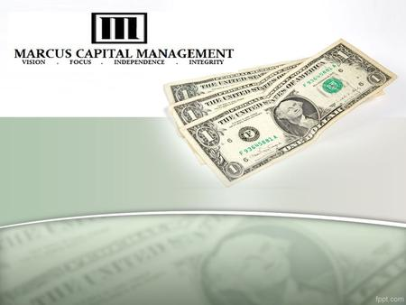 INTRODUCTION Marcus Capital Management was founded in 1995, by Mr. Jayesh Dhanani based in New Jersey, NY, He started his own capital funding in market.