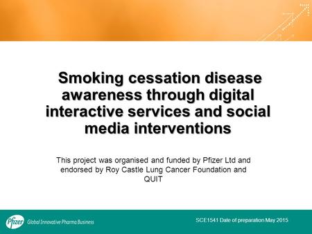 Smoking cessation disease awareness through digital interactive services and social media interventions Smoking cessation disease awareness through digital.