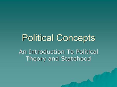 political science thesis introduction