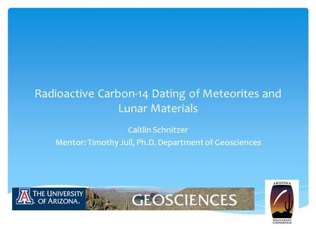carbon dating meteorites This dating is based on evidence from radiometric age-dating of meteorite  and that radiometric dating was credible holmes published the age of the earth, .