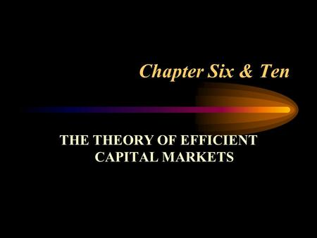 savings and investment liquidity efficient market hypothesis Faire game theory which is also called the efficient market hypothesis (emh markets efficiency and economic development in savings and investment.