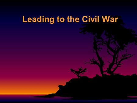 "Leading to the Civil War. Secession to withdraw formally from a union or alliance"" Southern individual states nullified their ratification of the U.S."