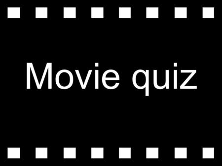 Movie quiz. 1) Some people say that the Academy Awards are called the Oscars because... a) an actor called Oscar won the first award. b) someone said.