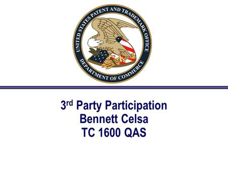 3 rd Party Participation Bennett Celsa TC 1600 QAS.