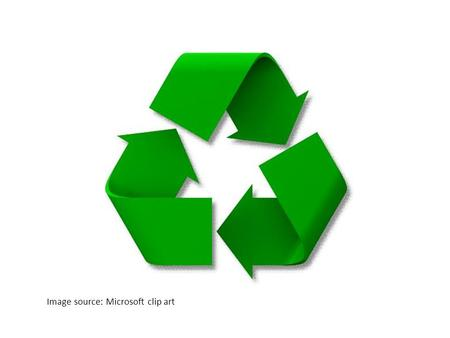 Image source: Microsoft clip art. Reduce Use refillable containers and avoid purchasing small water bottles. Operate electric cars instead of a vehicle.