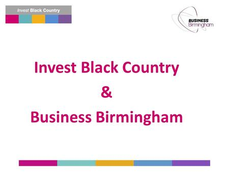 Built in the Black Country - Sold Around The World Invest Black Country & Business Birmingham.