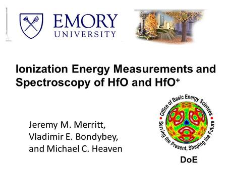 Ionization Energy Measurements and Spectroscopy of HfO and HfO+