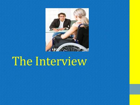 The Interview. Pre-interview Preparatory Exploration: who you are Preparatory Arranging: where/when it will take place, etc PreparatoryReviewing/Exploring,