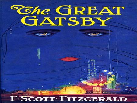 The importance of change as depicted in the great gatsby by f scott fitzgerald